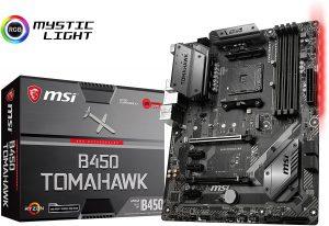 MSI B450 Tomahawk AMD Ryzen ATX Motherboard