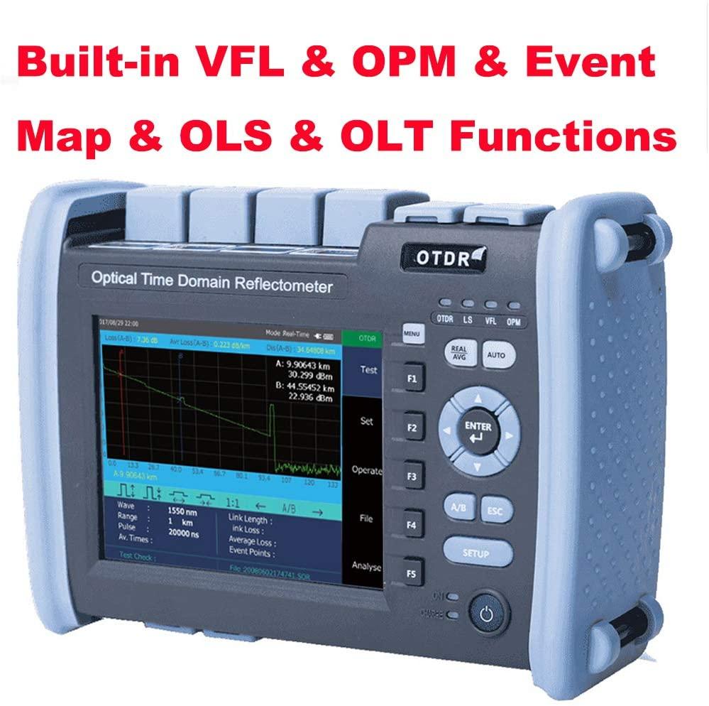 5) D YEDEMC Optic Fiber OTDR with Built-in VFL