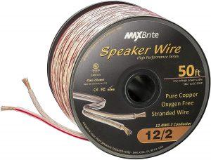 MaxBrite 12 gauge 1000 feet speaker wire