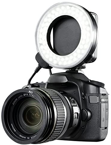 1) Dual Macro LED Ring Light/Flash Compatible with Canon EOS Rebel T3i