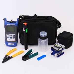 VFLTOOL Fiber Optic Termination Tool Kit - 9 in 1
